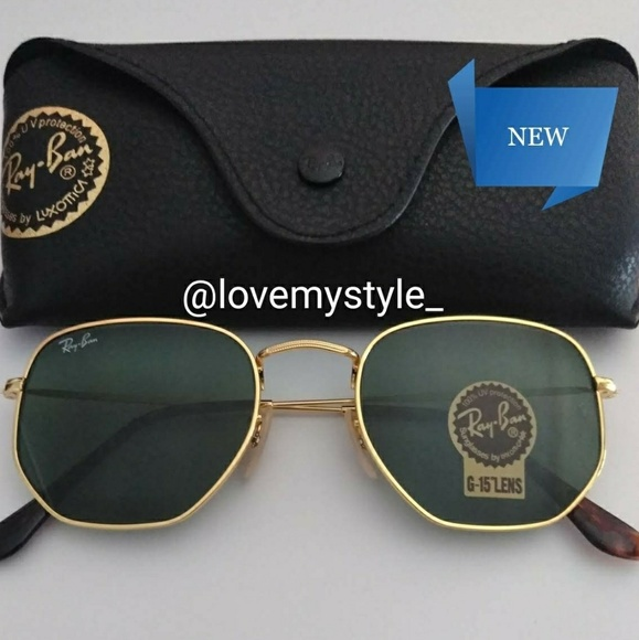 338c263f80c9 Ray-Ban Accessories | Sale120authentic Ray Ban Round Hexagonal ...